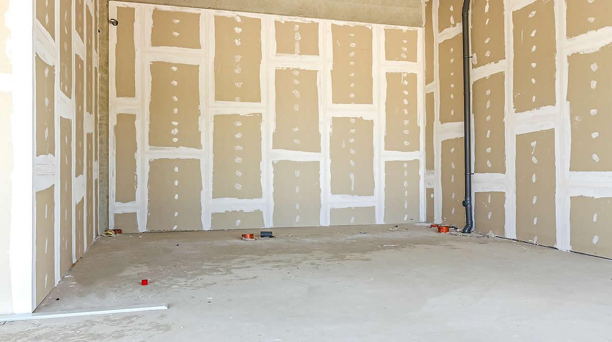 spachtelarbeiten im trockenbau. Black Bedroom Furniture Sets. Home Design Ideas